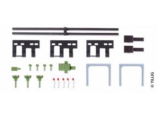 Beutel á 20 St. H0 Tillig 85506 Kontaktklemmen brüniert zur Stromführung