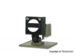 Viessmann 4515 Form-Sperrsignal mit Erdfuss H0
